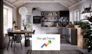 Latest Google Search Trends For Kitchen, Bedroom & Bathroom Retailers | Lead Wolf