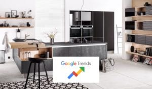 Latest Google Search Trends For Common Kitchen Search Terms | Lead Wolf