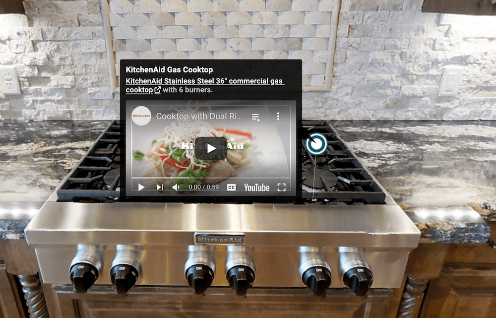 Add media content to your virtual tour with Mattertags